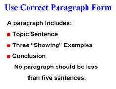 5 paragraph essay outline word